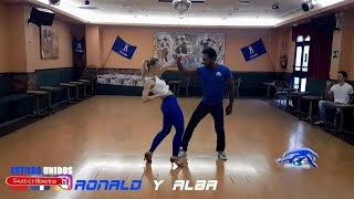 RONALD y ALBA Bachata Workshop Madrid [Ephrem J - Solo 3X Sin tu amor]