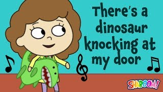There's a Dinosaur Knocking on my Door - Shabbat Song!