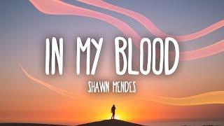 Shawn Mendes - In My Blood (Lyrics)
