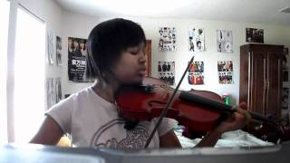 "U-Kiss ""0330"" violin cover"