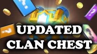 Updated Clan Chest! New Legendary Odds | Clash Royale