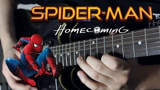 Spider-Man Homecoming Theme Guitar Cover