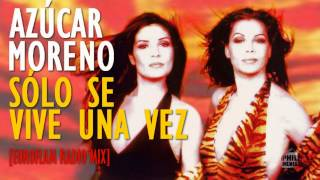 """AZÚCAR MORENO """"Sólo Se Vive Una Vez"""" [Euroflam Radio Mix] 1996 HD"""