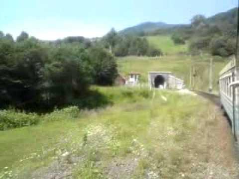 Regional Train in Carpathians Velikij Bereznyj- Sijanky 1.3GP