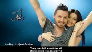 """Tavi Clonda-""""Felul tau de-a fi"""" (studio version)"""
