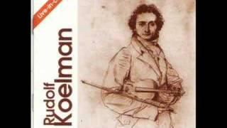 Rudolf Koelman - Niccolò Paganini - Caprice No. 1 in E major, Op.1 (Live)