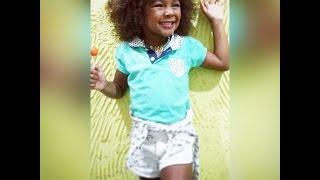 Menina de 5 anos arrasando dançando