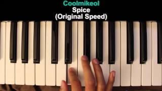 BASIC Piano Melody: Shokugeki no Souma ED 1 - Spice