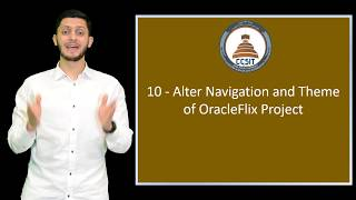 Oracle APEX Tutorial 10 - Alter Navigation and Theme of OracleFlix Project