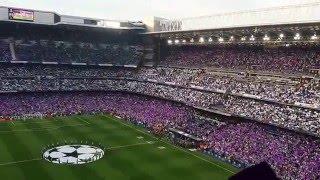 Himno de la Décima: Hala Madrid y nada más   Real Madrid 1:0 Manchester City   Santiago Bernabéu