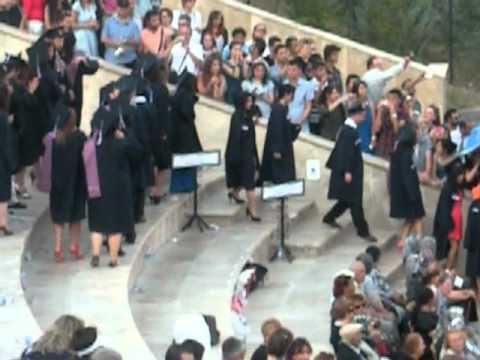 Hacettepe Üniversitesi BBY 2012: Mezuniyet Töreni
