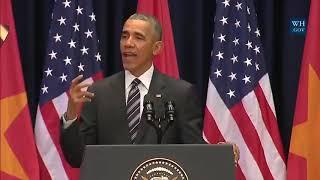 Barack Obama singing Believe-Eminem(Must watch)