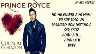 Culpa al Corazón   Prince Royce Letra Video Liryc New 2015
