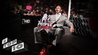WWE Top 10 posesiones pulverizadas