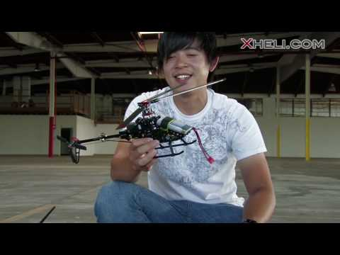 New Walkera 4F200 Tri Bladed 3D Helicopter