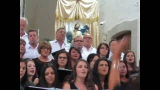 LA CORALE NUOVA PROVENZA DI FAETO, canto in lingua madre Franco-provenzale in Puglia.