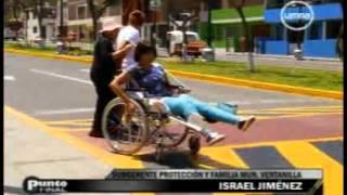 5x24 Discapacitada (Parte 3) Reportaje de Giovanna Diaz - Frecuencia Latina - Programa Punto Final