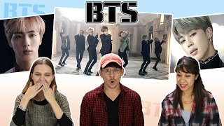 "Americans React to BTS ""Blood Sweat & Tears"""