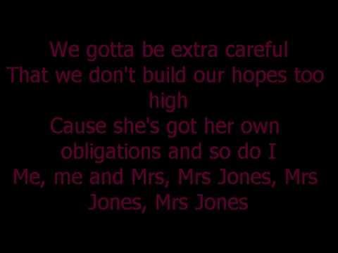 Michael Buble Me And Mrs Jones Lyrics 2