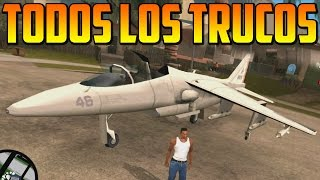 Todos los Trucos de GTA San Andreas HD en Xbox 360, PC, PS3, PS2... - Gameplay GTA San Andreas HD
