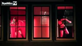 Amsterdam Red Light District Dance