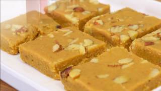 स्पेशल बेसन की बर्फी in 11 minutes-Tasty Besan ki Barfi-How to make Besan Barfi