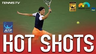Hot Shot: Thiem Prevails In 36 Ball Rally At Miami 2017