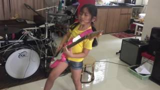 Enter sandman. Cover by pettyRock   6 Years old from thailand