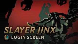 Slayer Jinx | Login Screen - League of Legends
