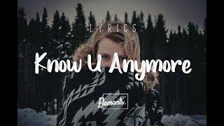BoTalks - Know U Anymore ft. Sarah Hyland - [Lyrics]