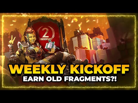 WEEKLY KICKOFF! | Special Events, Old Fragments?! | RAID Shadow Legends