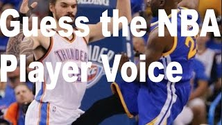 Guess that NBA Player Voice Quiz/Game!