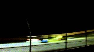 2012 Petit Lemans Night Turn 6 is Busy @ Road Atlanta