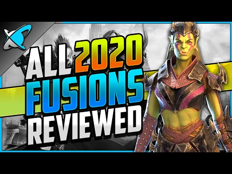 I GOT THEM ALL !! | 2020 Champion Fusions | Review & Builds !! | RAID: Shadow Legends