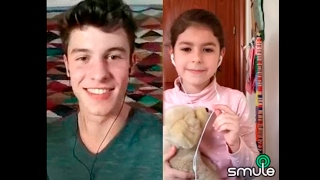 Treat You Better | Shawn Mendes and 7 year old Ana Rivas (SMULE DUET)