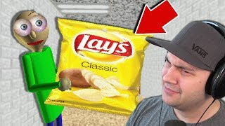 Baldi LOVES Potato Chips... And its weird... | Baldi's Basics