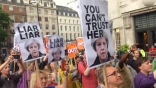Captain Ska perform Liar Liar outside BBC HQ