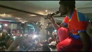 Eddy Kenzo live in congo Kinshasa