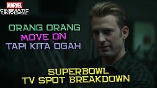Bakal Langsung Ngegas Dari Awal Film | Avengers End Game Superbowl TV Spot Trailer Breakdown