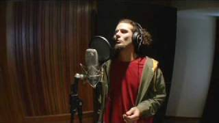 Carlinhos ZODI  gravando voz na música Pisa Areia Branca