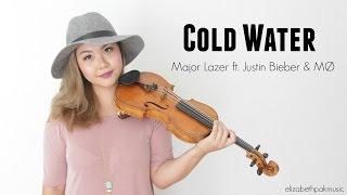 Cold Water - Major Lazer ft. Justin Bieber & MØ (Violin Cover) | ElizabethPakMusic