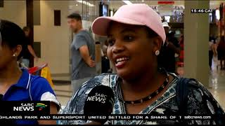 PE residents flock to shopping centres