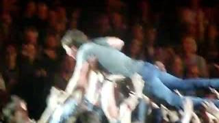 James Blunt - Crowd Surfing - Rostock 06/10/2011