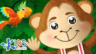 Five Little Monkeys | Nursery Rhymes for Children | Songs for Kids