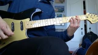 Billy Talent Turn your back guitar cover