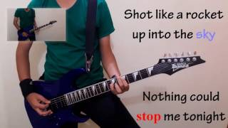Skillet | Feel Invincible | Guitar Cover | Lyrics | By Abhinav