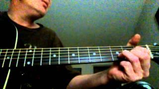 Tiny Tears Tindersticks guitar lesson