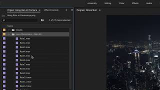 TUTORIAL -  Adding Rain in Adobe Premiere