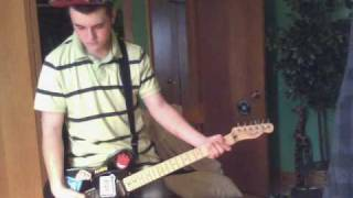 Punk Rock 101 - Bowling For Soup Guitar Cover w/ Music