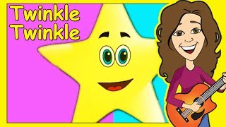 Twinkle Twinkle Little Star | Nursery Rhyme for kids, children, baby | Lyrics | Patty Shukla
